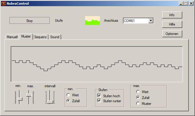 NobraControl 2.0 Modul zur Muster-Generierung
